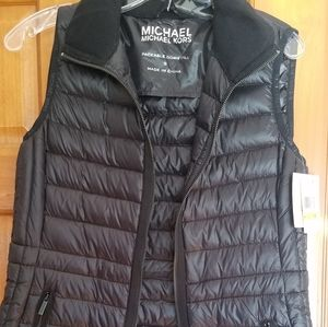 Michael Kors packable down vest